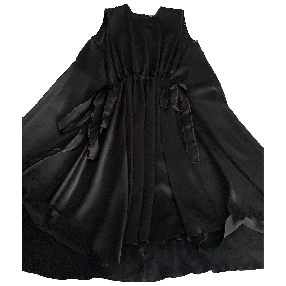 Red Valentino Garavani N Black Silk dress for Women 40 IT