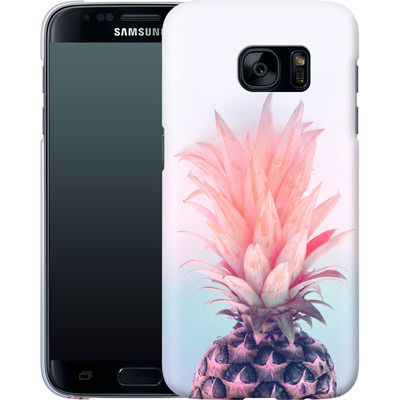 Samsung Galaxy S7 Smartphone Huelle - Pastel Pineapple von Emanuela Carratoni