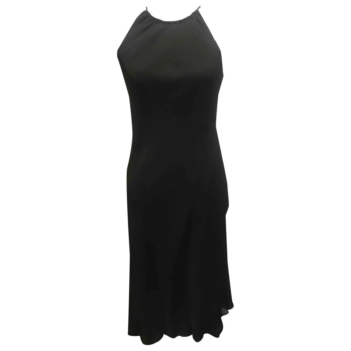 Ann Taylor - Robe   pour femme en soie - noir