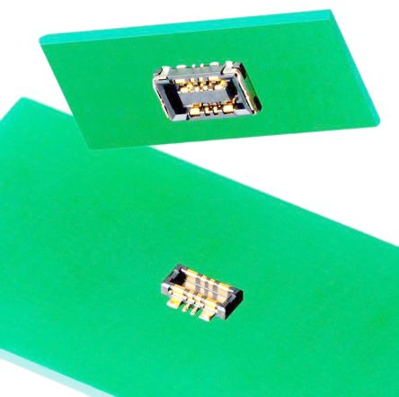 Molex , SlimStack, 505004, 8 Way, 2 Row, Vertical PCB Socket (20)