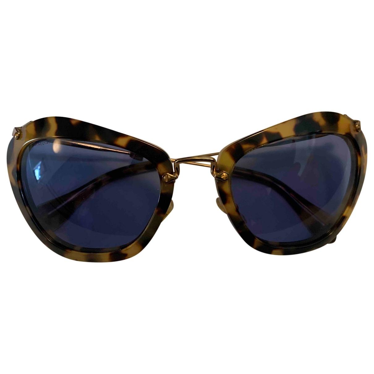 Miu Miu \N Sonnenbrillen in  Bunt Metall