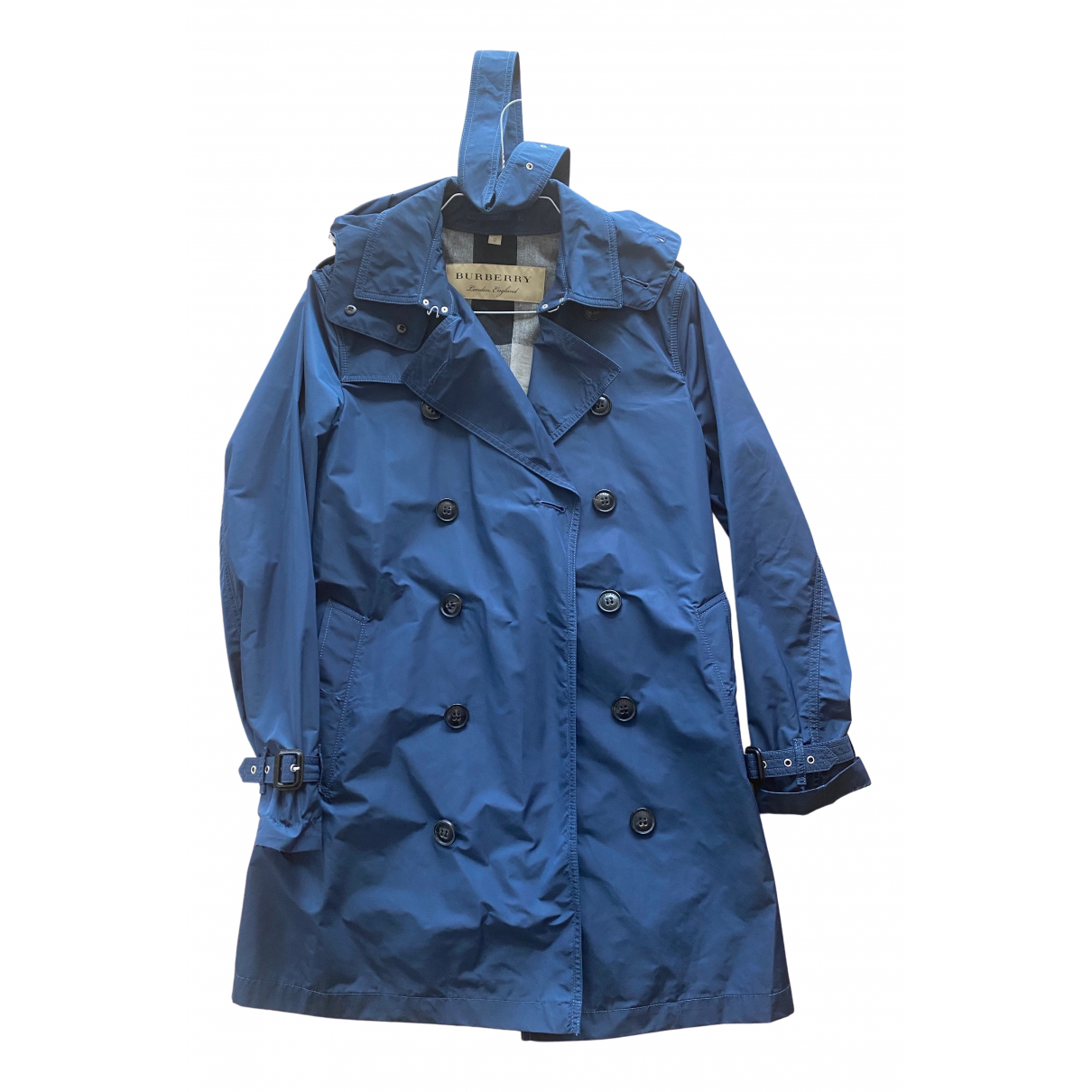Burberry - Manteau   pour femme - marine