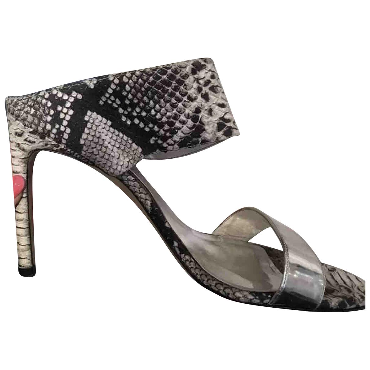 Stuart Weitzman N Multicolour Leather Heels for Women 7 UK