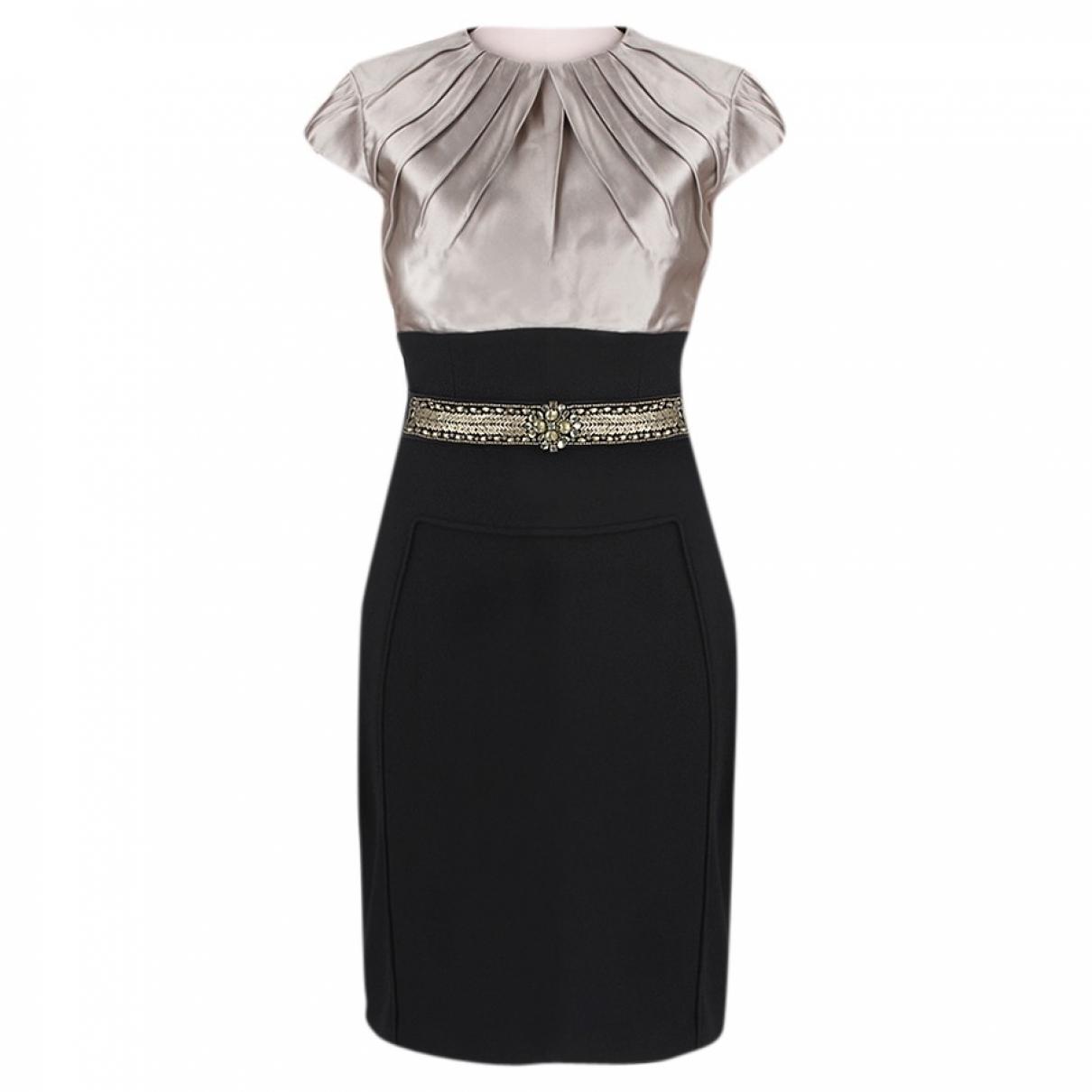 Monique Lhuillier \N Kleid in  Bunt Polyester