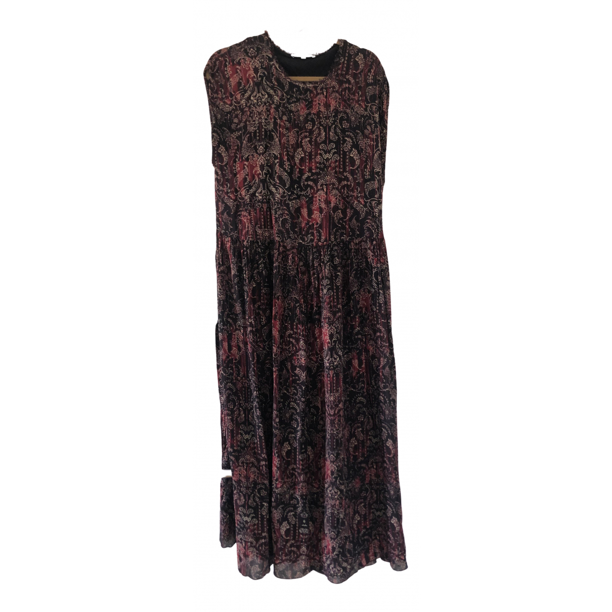 Iro N Burgundy dress for Women 36 FR