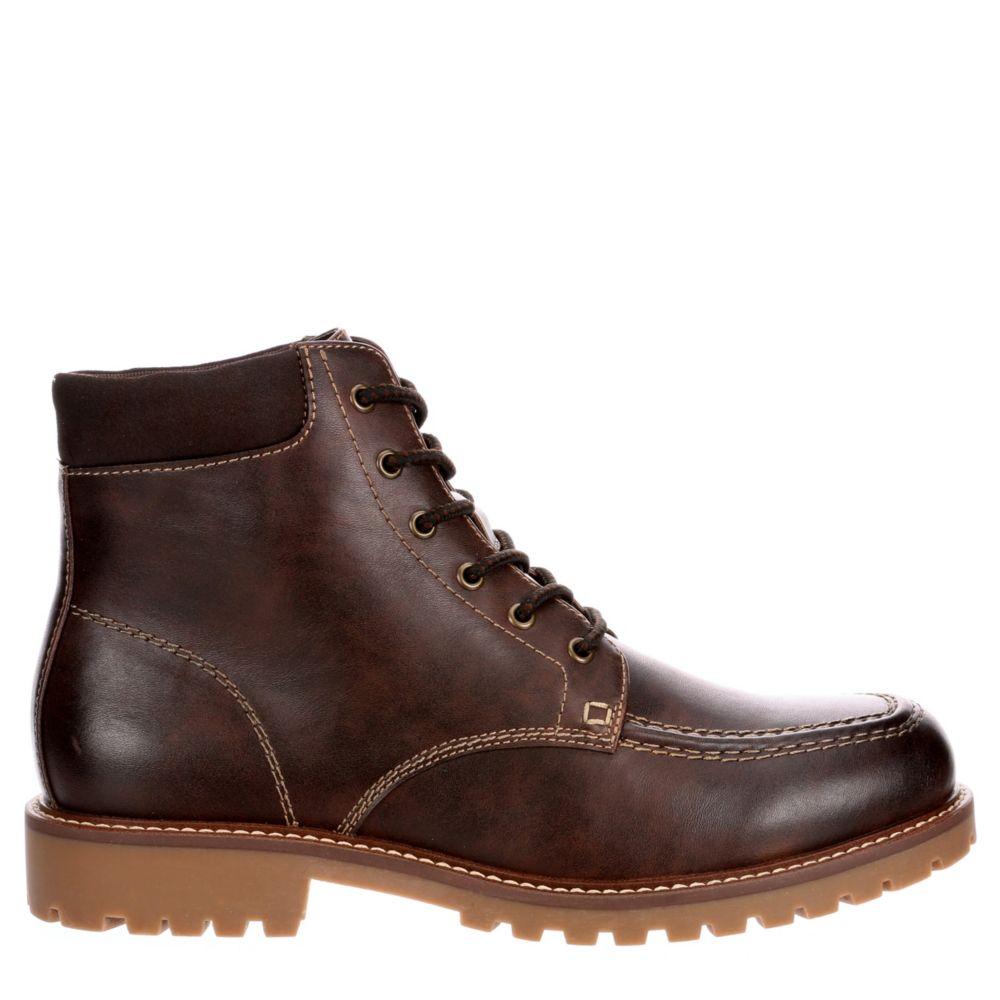 Madden Mens Hazzel Moc Toe Casual Boot