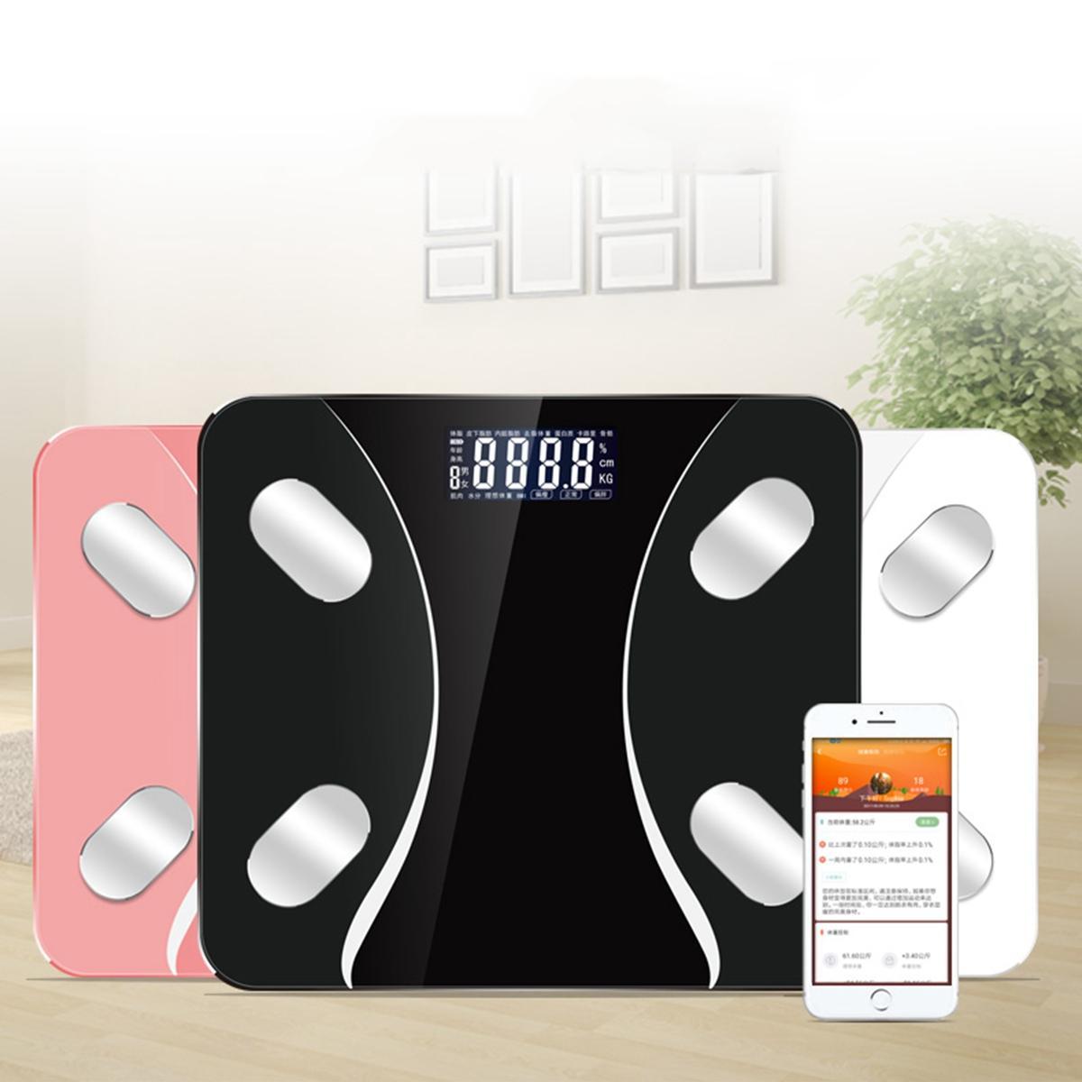KCASA Smart Body Fat Scale Measure Human Body Composition