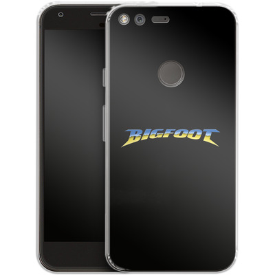 Google Pixel XL Silikon Handyhuelle - Bigfoot Black von Bigfoot 4x4