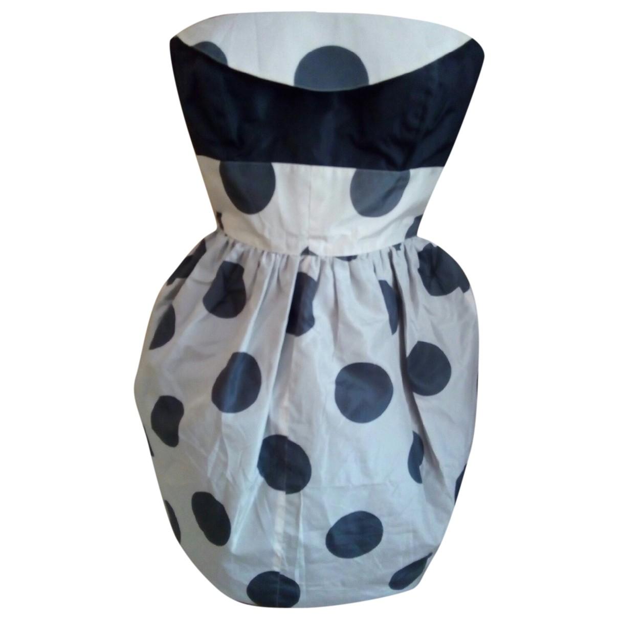 Mini vestido de Seda Basile