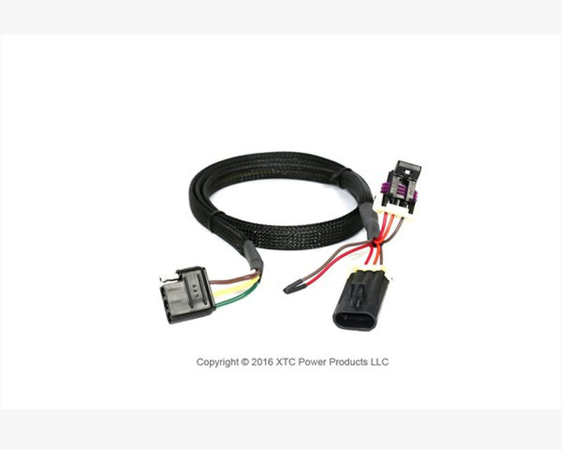 XTC Power Products UNI-3PIN-TRAOUT Universal Plug & Play 3 Pin OEM Harness to 4 Pin Flat Trailer Connector