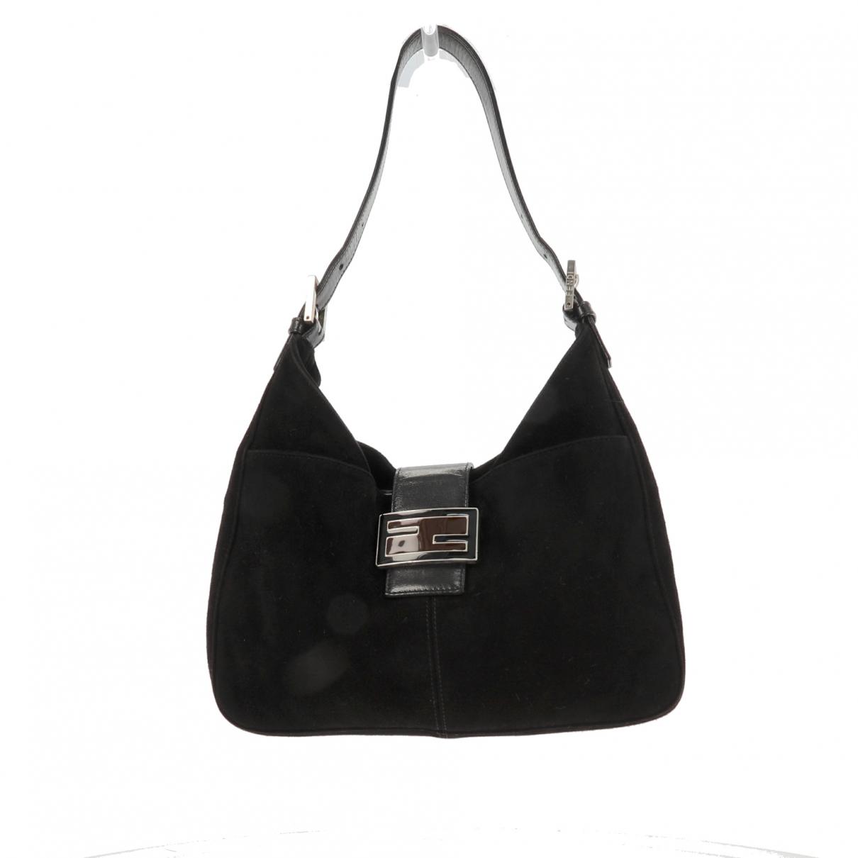 Fendi \N Black Suede handbag for Women \N