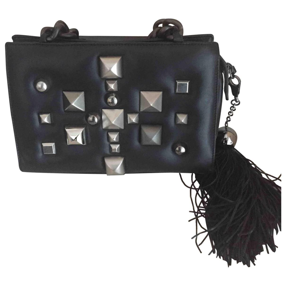 Roberto Cavalli \N Black Leather handbag for Women \N