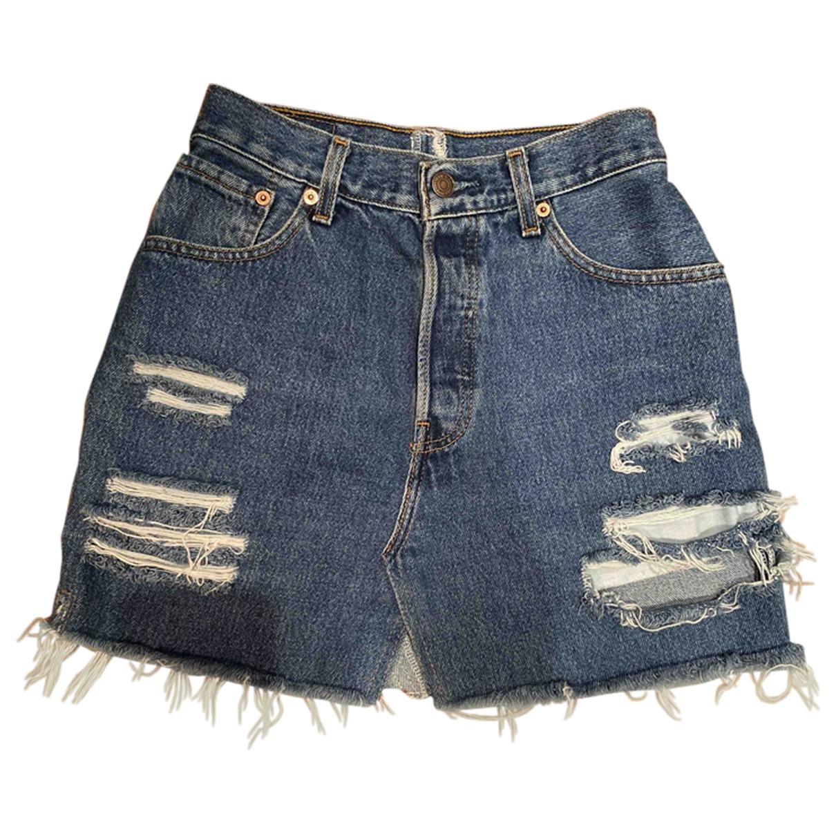 Levis Made & Crafted \N Rocke in  Blau Denim - Jeans