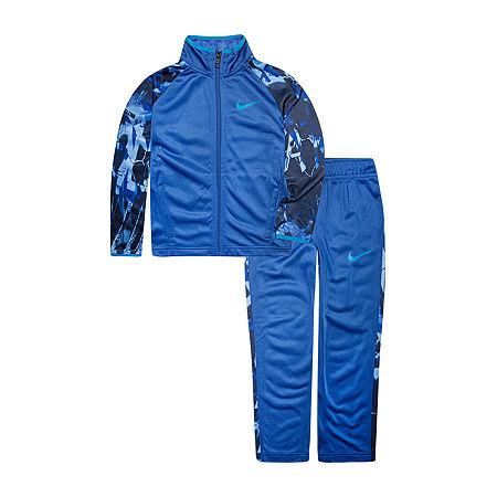 Nike Toddler Boys 2-pc. Pant Set, 3t , Blue