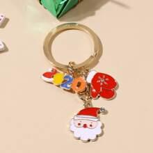 Christmas Santa Claus Keychain