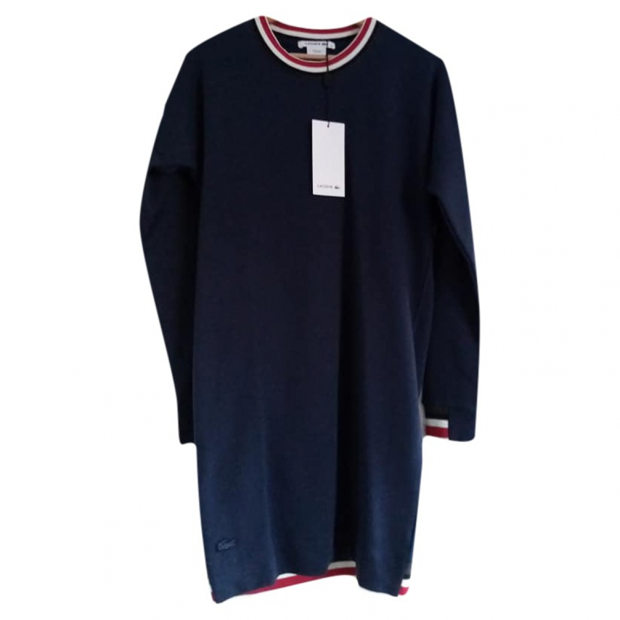 Lacoste \N Kleid in  Marine Polyester