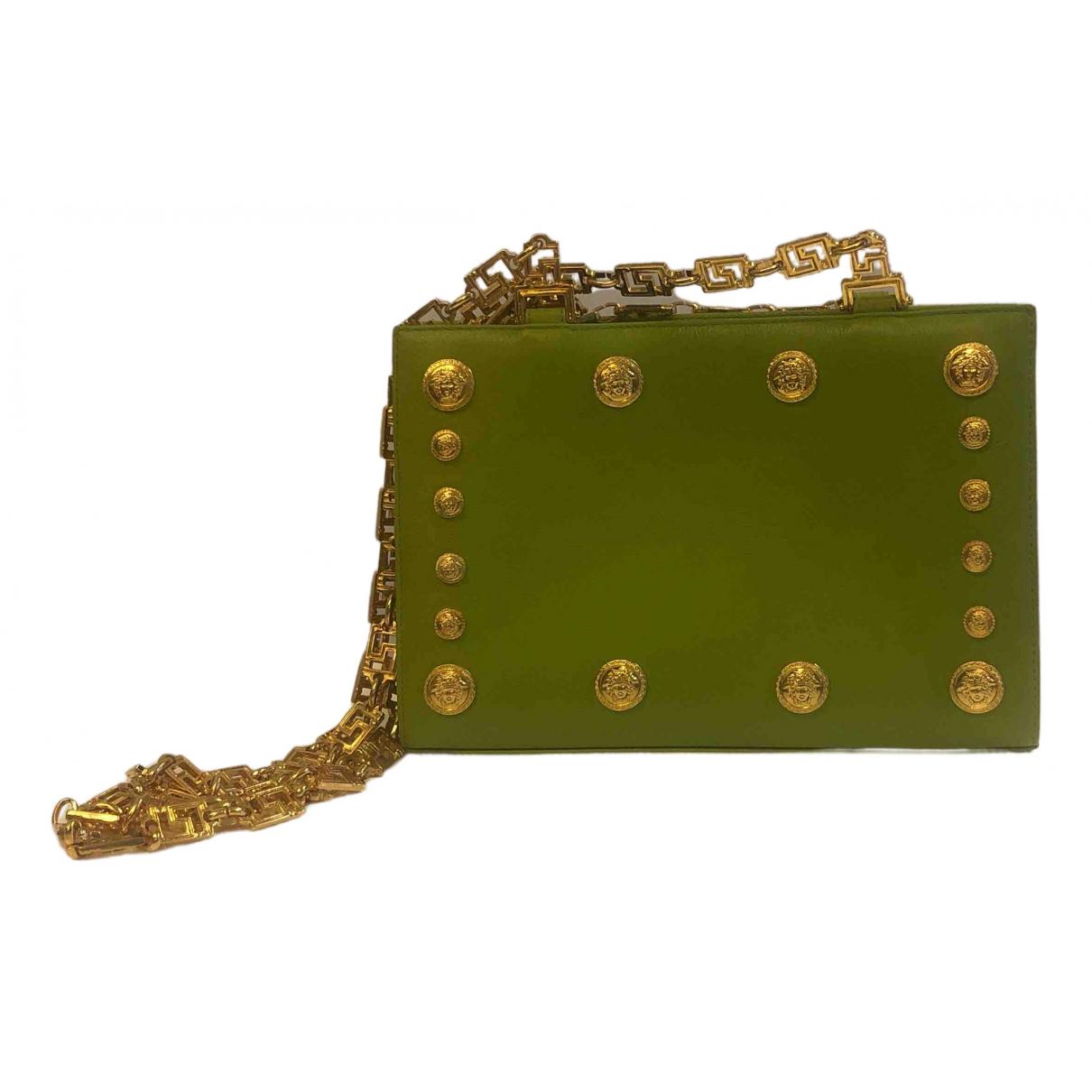 Gianni Versace \N Handtasche in  Gruen Leder
