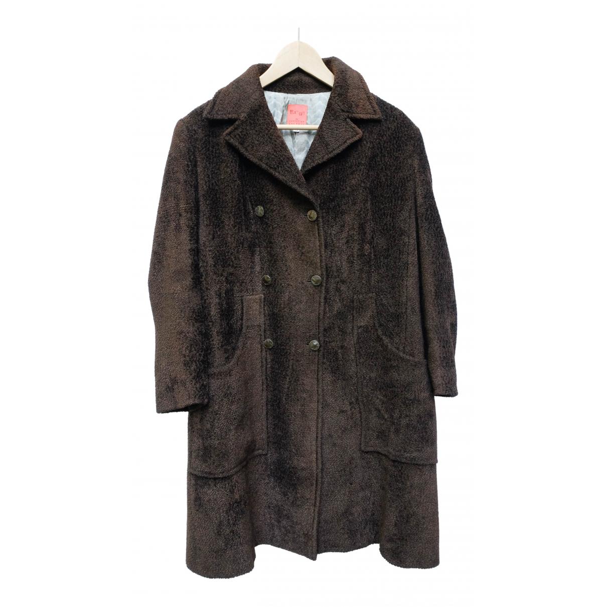 Christian Lacroix - Manteau   pour femme en laine - marron