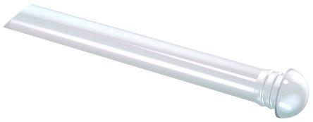 Mentor GmbH 1293.7001 MENTOR, Panel Mount LED Light Pipe, Clear Dome Lens (5)