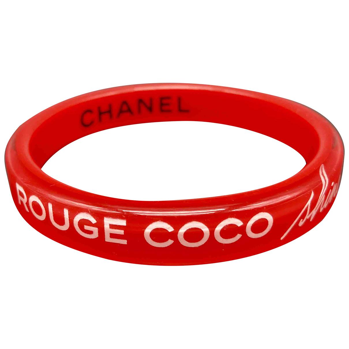 Chanel - Bracelet   pour femme - rouge