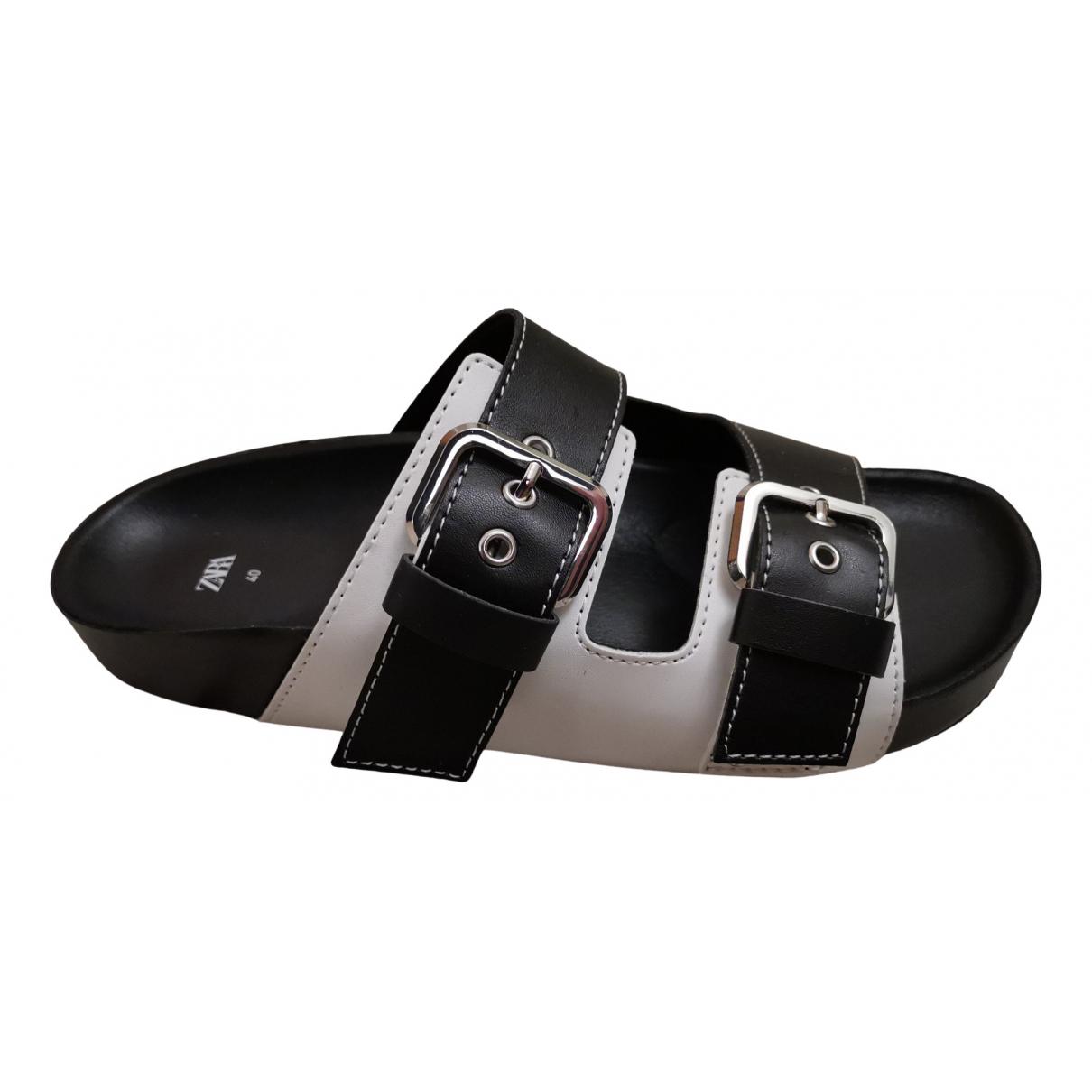 Zara \N Black Sandals for Women 40 EU