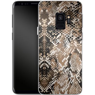 Samsung Galaxy S9 Silikon Handyhuelle - Snakeskin von caseable Designs