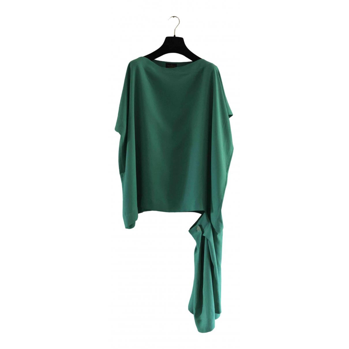 Vivienne Westwood Anglomania \N Kleid in  Gruen Polyester