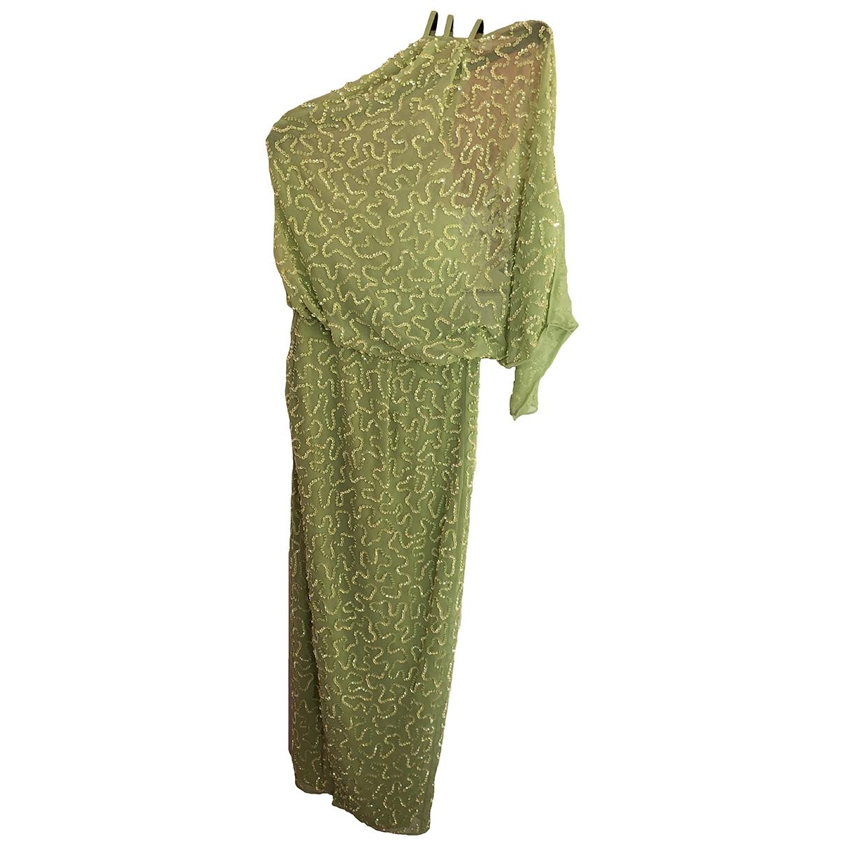 Asos \N Kleid in  Gruen Synthetik