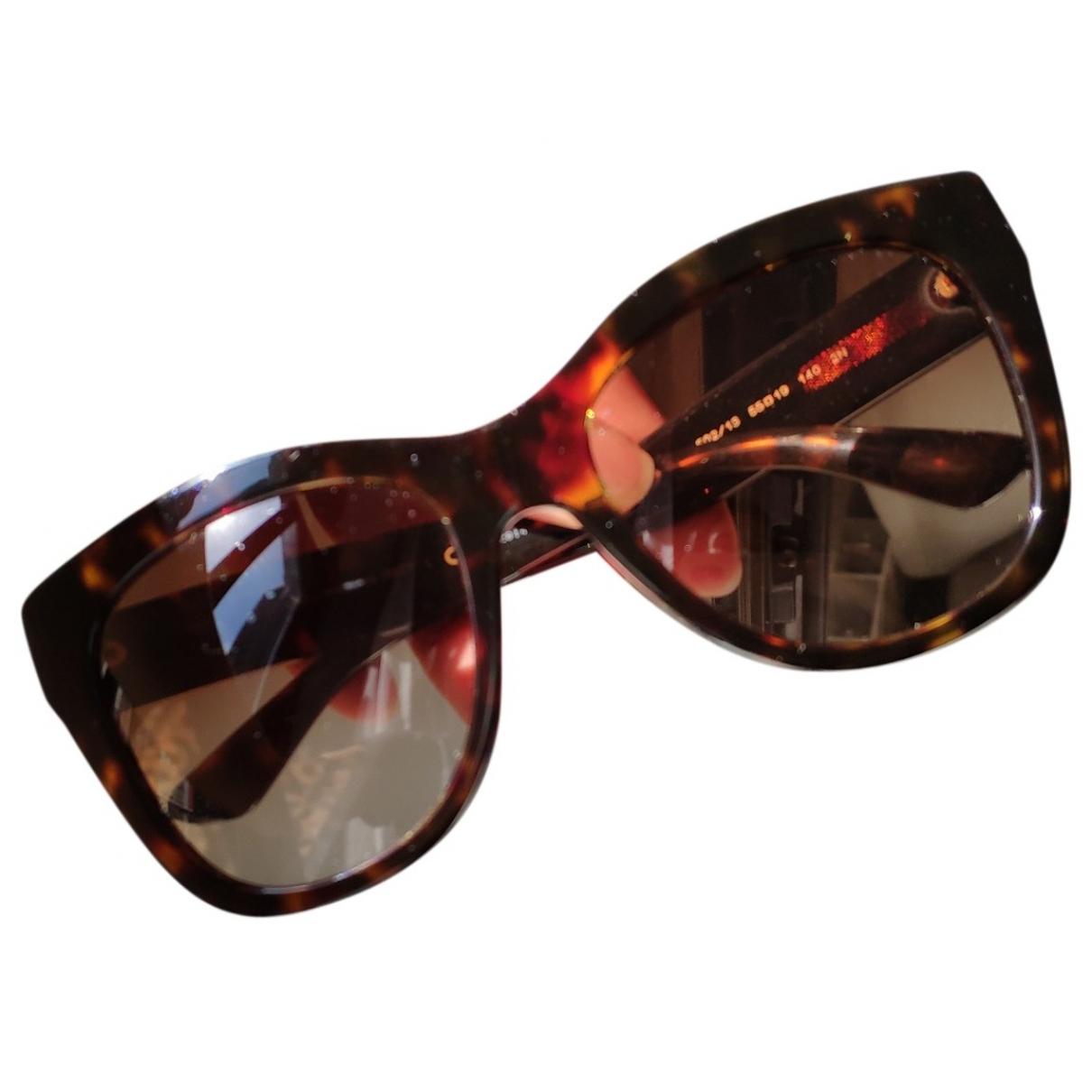 Dolce & Gabbana \N Sonnenbrillen in  Braun Kunststoff