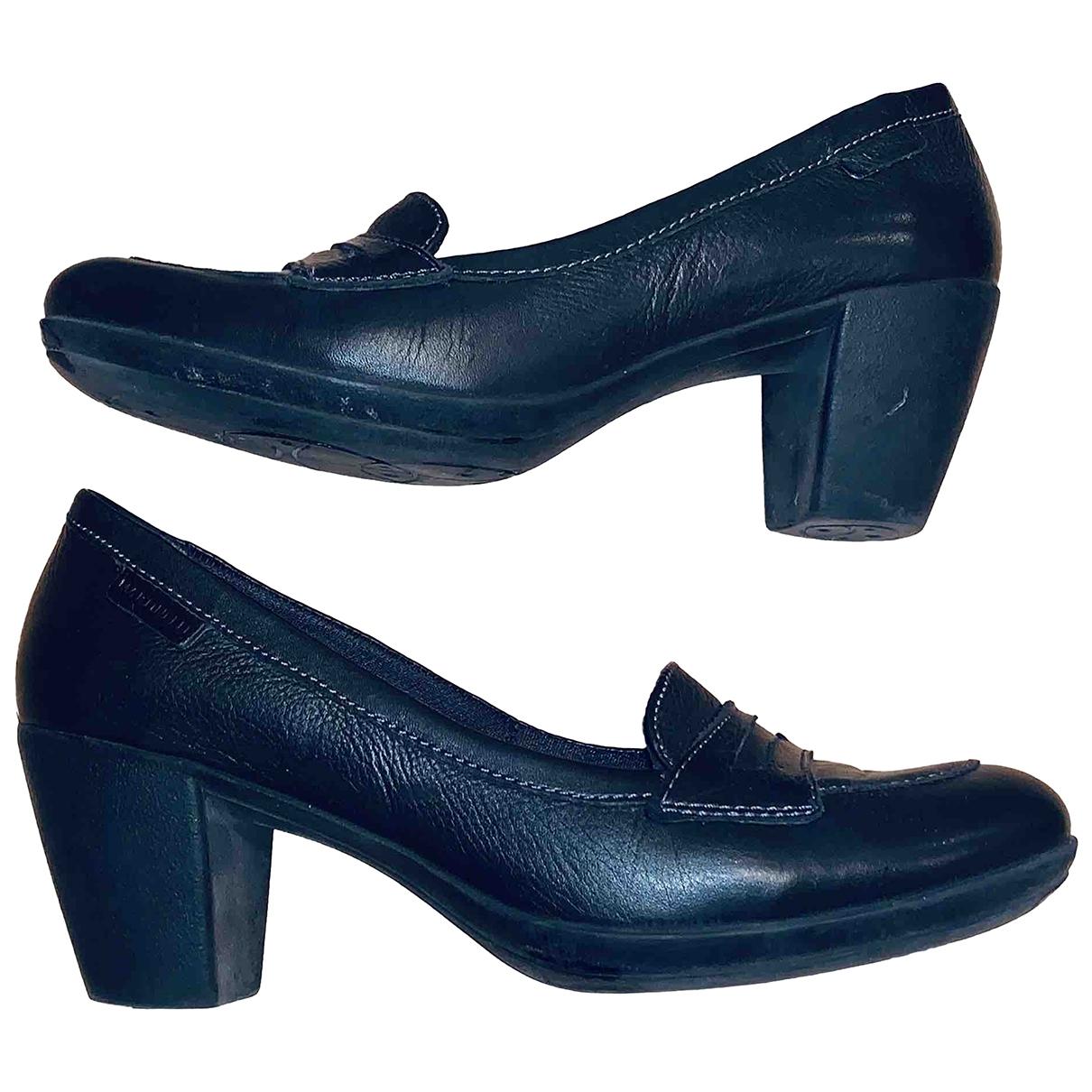 Martinelli Luce - Escarpins   pour femme en cuir - noir
