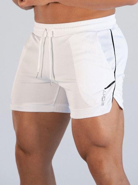 Milanoo Pantalones cortos de malla deportiva para hombre Pantalones cortos de baloncesto de secado rapido Pantalones cortos de entrenamiento de entren