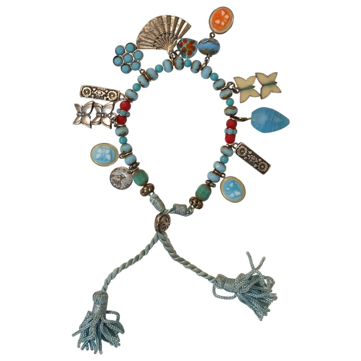 Reminiscence \N Turquoise Metal bracelet for Women \N