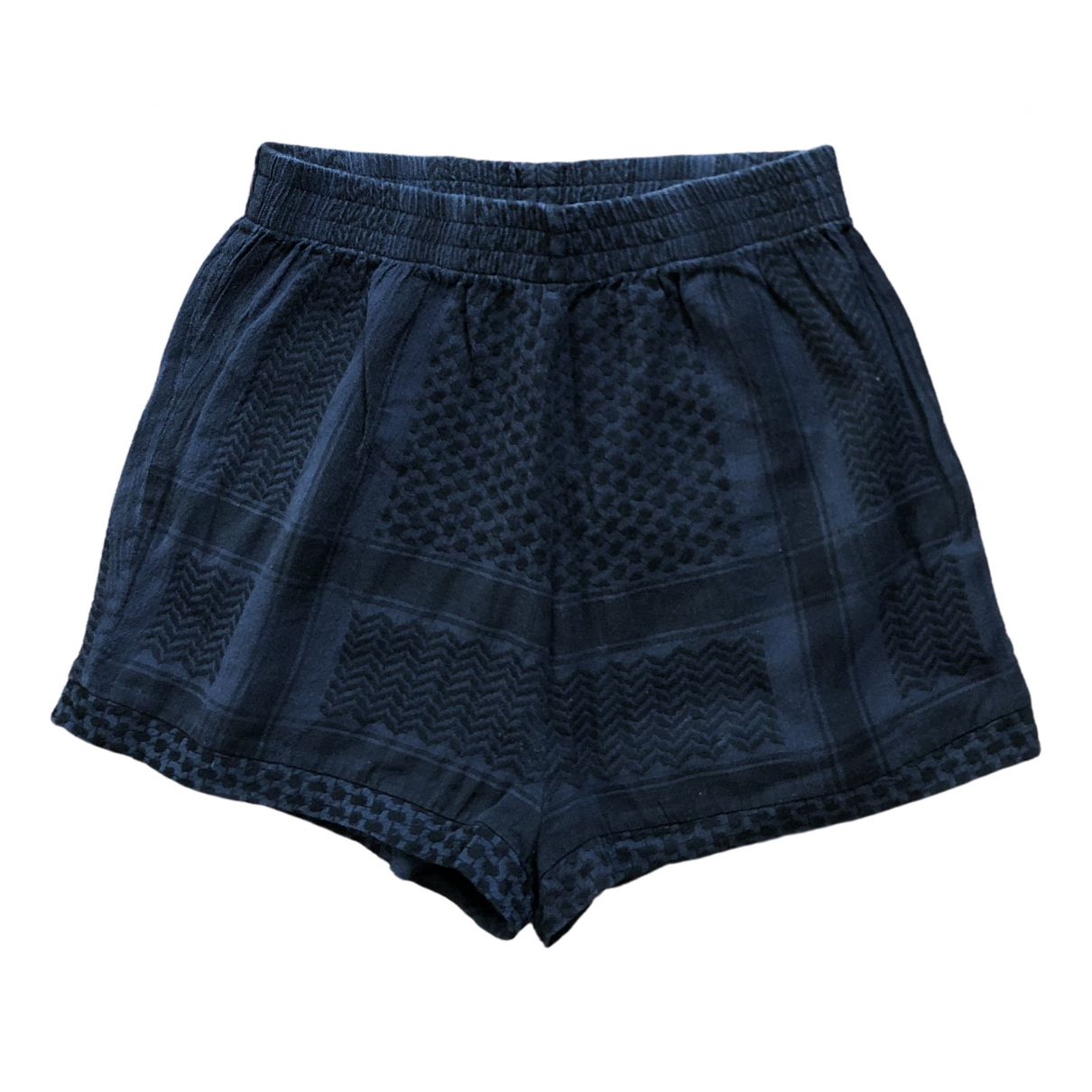 Cecilie Copenhagen \N Shorts in  Marine Baumwolle