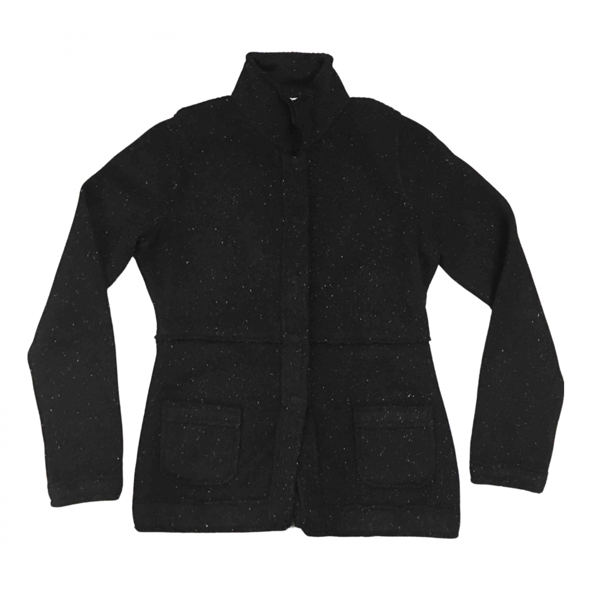Bruno Manetti - Veste   pour femme en laine - noir