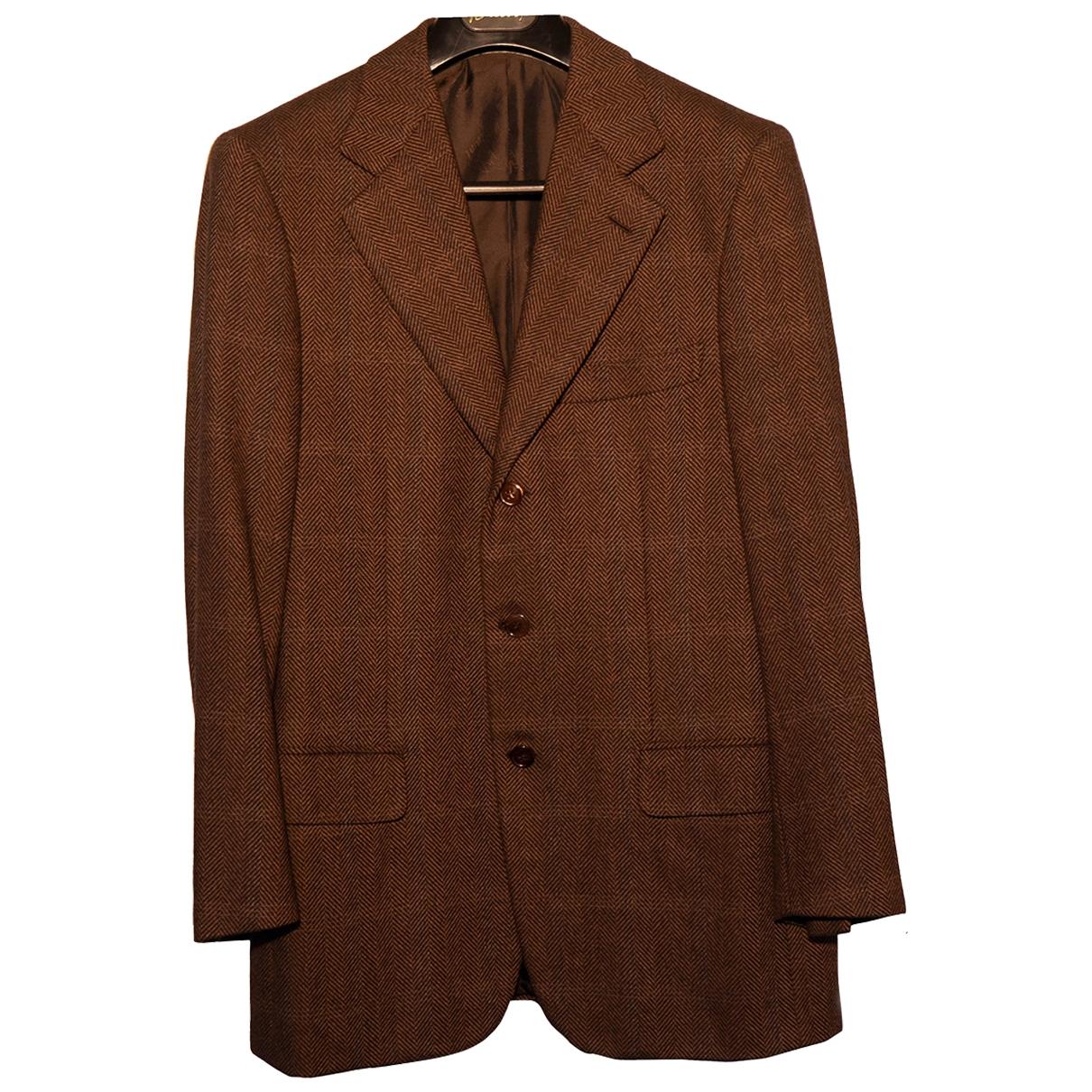 Brioni - Vestes.Blousons   pour homme en tweed - multicolore