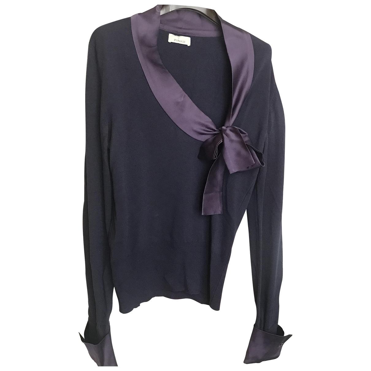 Pinko \N Purple Wool Knitwear for Women M International