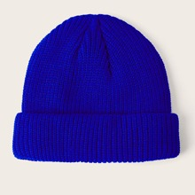 Solid Knitted Beanie