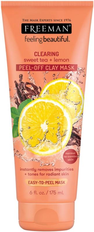 Sweet Tea & Lemon Peel-Away Clay Mask - 6.0oz
