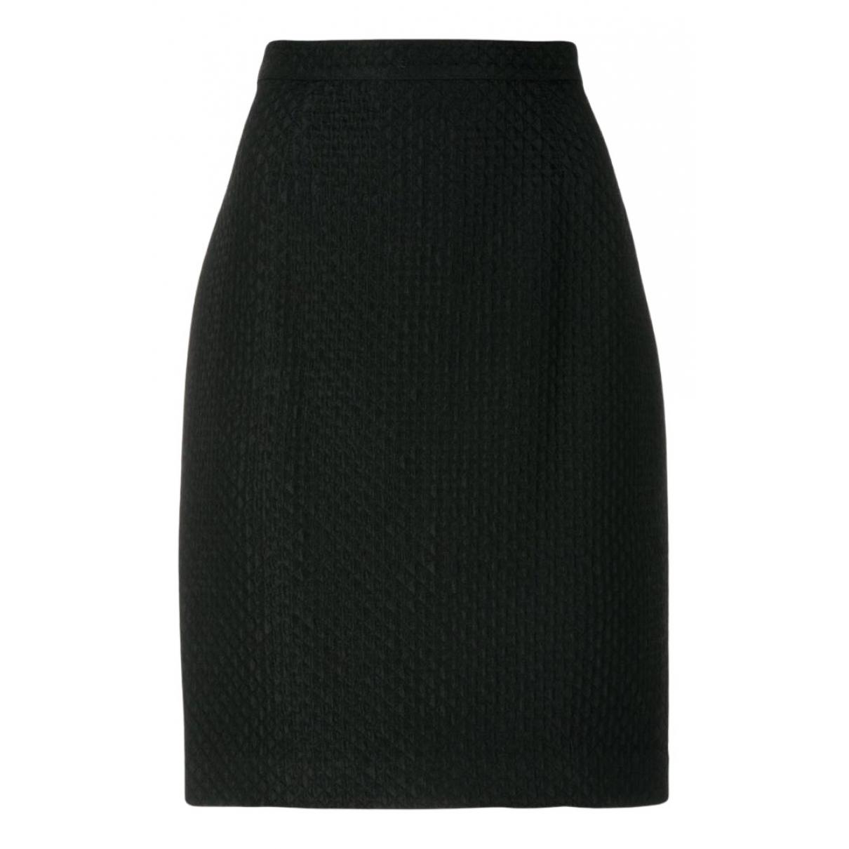 Krizia - Jupe   pour femme en coton - noir