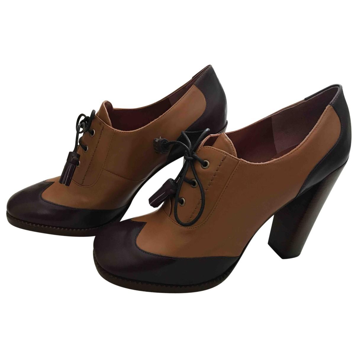 Marc By Marc Jacobs \N Beige Leather Heels for Women 40 EU