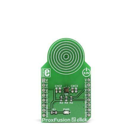 MikroElektronika MIKROE-3205, ProxFusion 2 Click for IQS621