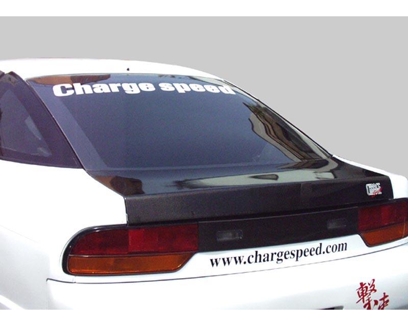 ChargeSpeed CS702HT FRP Lightweight Rear Hatch Trunk Lid Nissan 240SX S13 Hatchback 89-94