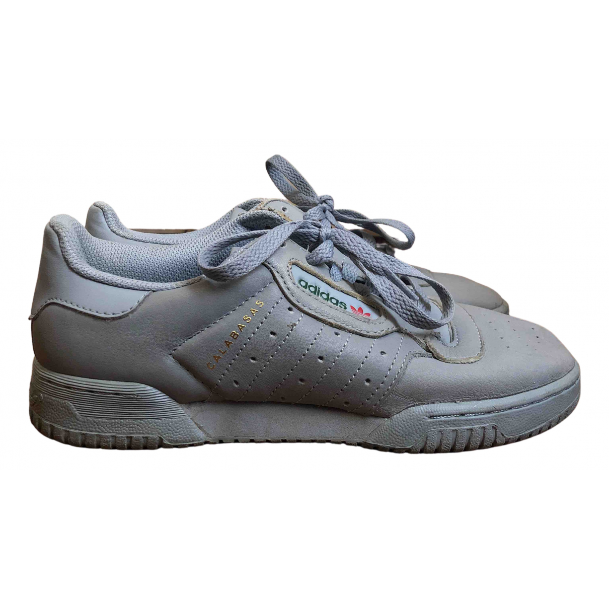 Yeezy X Adidas - Baskets POWERPHASE pour femme - gris