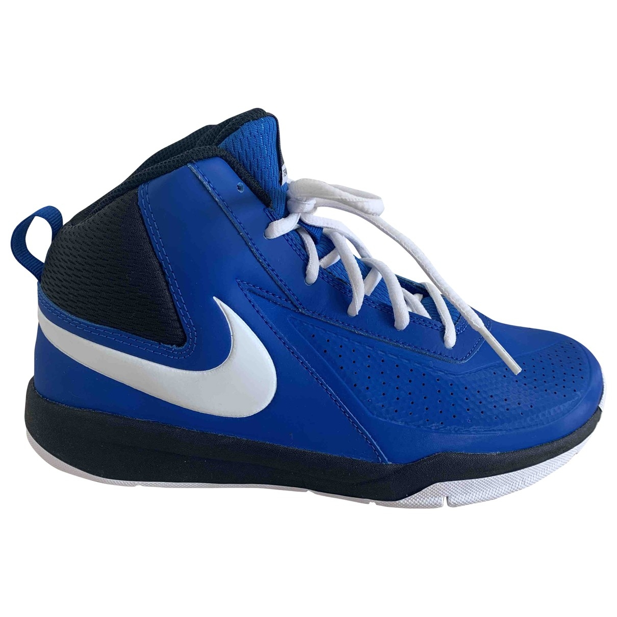 Nike \N Blue Leather Trainers for Men 39 EU