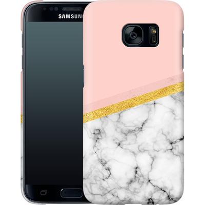 Samsung Galaxy S7 Smartphone Huelle - Marble Slice von caseable Designs