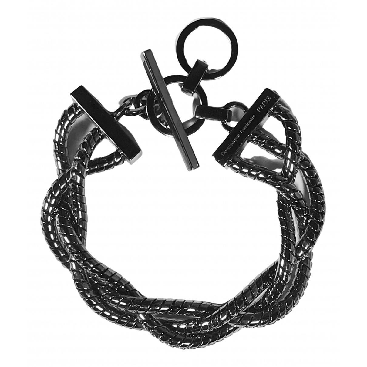 Non Signé / Unsigned \N Anthracite bracelet for Women \N