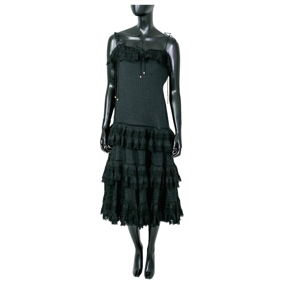 Zimmermann \N Kleid in  Schwarz Polyester