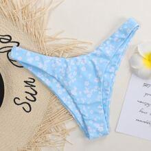 Ditsy Floral High Cut Bikini Panty