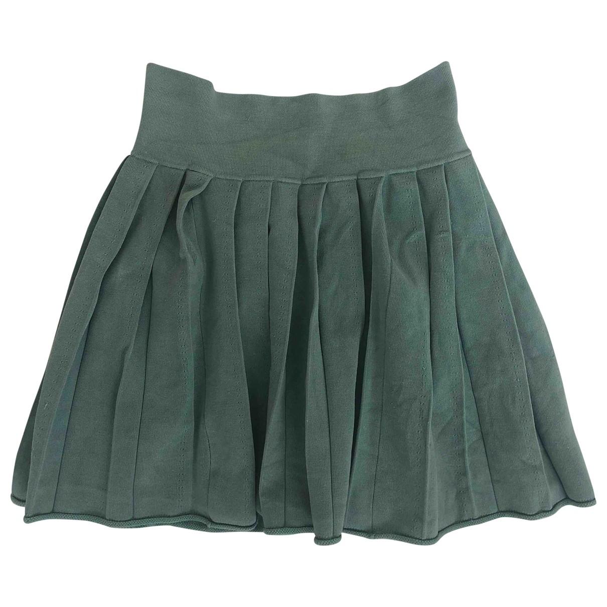 Zadig & Voltaire - Jupe   pour enfant en soie - vert