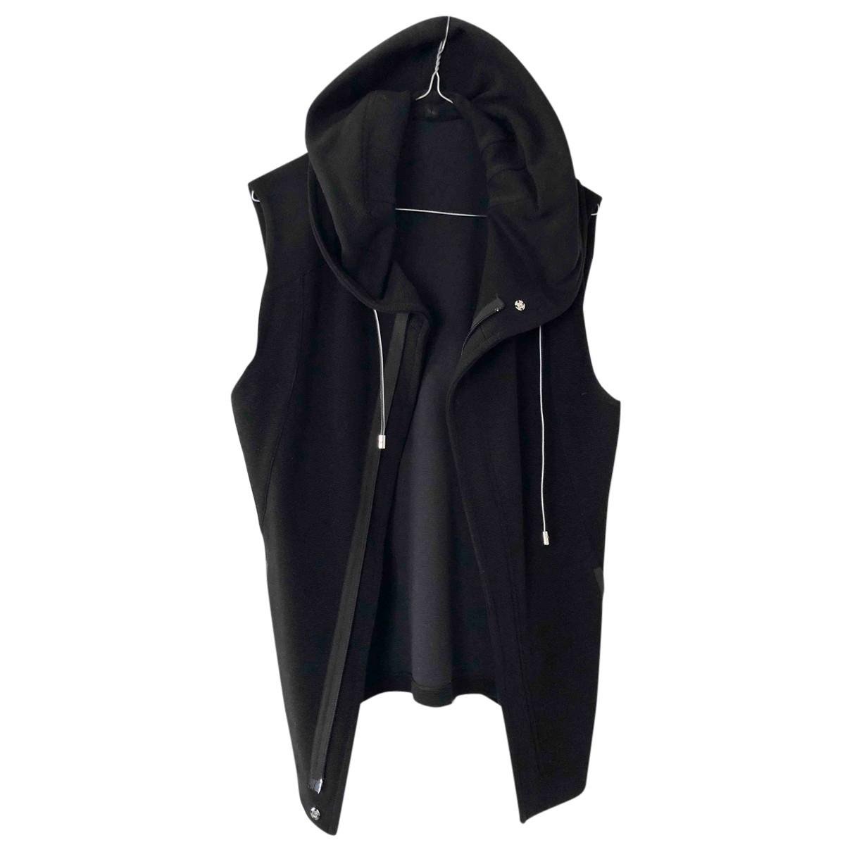 Giorgio Armani \N Pullover.Westen.Sweatshirts  in  Schwarz Baumwolle